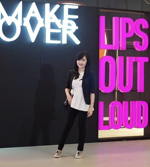 Attending @makeoverid Beauty Class Colorcentric Week with @LYKEofficial ♥ #LYKEambassador #LYKExMakeover #LIPSOUTLOUD