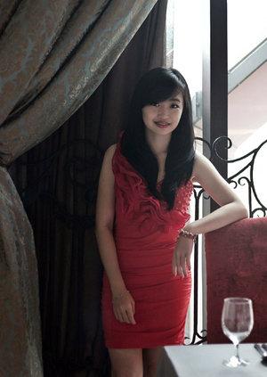 But, loving him was red #ClozetteID #Fashion #OOTD #RedDress #ValentinoJKT