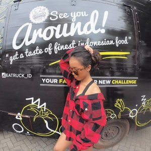 @eatruck_id See You Around. ..#sakuralisha #independentwoman #indonesianbeautyblogger  #fotd #fashion #fashionoftheday #followback  #followforfollow #likeforlike #instagood #likeforfollow #followme #like4like  #follow4follow #follow #fashiongirl #antisocialsocialclub #plazasenayan #potd #indonesia #dagelan  #fashions #ootd #outfit #eatruck #outfitoftheday #jakarta #clozetteid