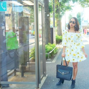 #latepost My flower dress outfit of the day. ❤❤ #sakuralisha #independentwoman #indonesianbeautyblogger #japan #harajuku #beautybloggers #travellife #travelblogger #travel #travelling #followforfollow #likeforlike #followback #followme #follow4follow #likeforfollow #ootd #fashion #outfit #fashions  #beautyblogger #outfits #dress  #forever21 #fashionoftheday #outfitoftheday #clozetteid