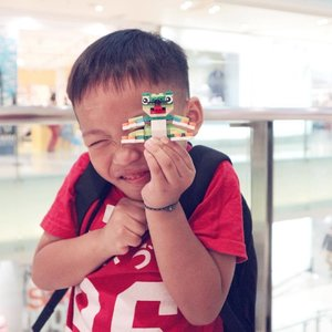 . HIS SMILE, means the world to me The happiness after LEGO mini building class at LEGO Store, @grandindo . #destonmarvelle #lego #legoaddict #legocollector #happyface #son #sonshine #cute #happiness #blessed #love #thanksGod #bblogger #bloggerslife #mommyblogger #clozetteid  #qualitytime #mommyandson