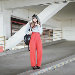 Current obsession: vintage pants ❤❤. . . . #clozetteid #clozette #CIDstreetstyle