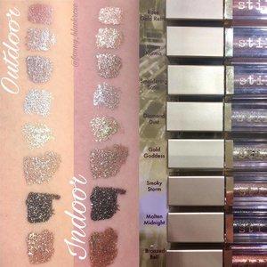 I love #glitter #glittereyeshadow so much 😊✨ Do you? Check out my blog post about @stilacosmetics #stila  Stila 📃Blackroseartproject's Blog 📃 https://blackroseartproject.wordpress.com/2017/03/01/stila/ ☝️☝️☝️Or just click the link on my bio ☝️☝️☝️ #beautyblogger #makeup #makeuppost #makeupaddict #makeuplove #makeupobsessed #clozetteid #clozetteambassador #indobeautygram #surabayabeautyblogger #makeuptalk #swatches #blackroseartproject #beautyblog