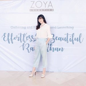 ".. And it was all blue for today ""Effortlessly Beautiful Ramadhan"" with @zoyacosmetics 💙☃️💙 Once again, congratulation for the launching of www.zoyacosmetics.com. Don't miss the special promotion for 50% off on their website tonight, it's only last until 12 pm 😉 . . . . . . . . . #EasilyLookingGood #ZOYACosmetics #EffortlessXBeautiful #selfportrait #ulzzang #clozetteid #ootd #beautyblogger #fashionpeople #beautyenthusiast #makeupjunkie #bestoftheday #beautyinfluencer #l4l #photooftheday #beauty #makeup #fashion #vscocam #styleinspiration #asiangirl #instastyle #beautyjunkie #얼짱 #일상 #데일리룩 #셀스타그램 #셀카"
