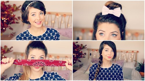 "<div class=""photoCaption"">How To: Quick & Easy Hair Styles 