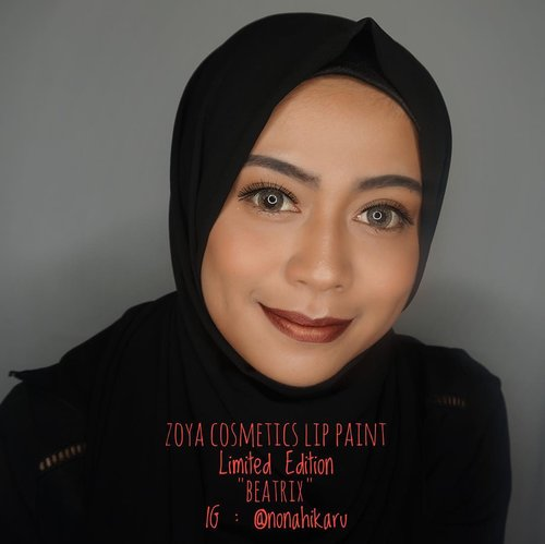 "<div class=""photoCaption"">@zoyacosmetics New Limited Lip Paint shade Beatrix 💄.<br /> -<br />  <a class=""pink-url"" target=""_blank"" href=""http://m.id.clozette.co/search/query?term=ZoyaCosmetics&siteseach=Submit"">#ZoyaCosmetics</a>  <a class=""pink-url"" target=""_blank"" href=""http://m.id.clozette.co/search/query?term=EasilyLookinGood&siteseach=Submit"">#EasilyLookinGood</a>  <a class=""pink-url"" target=""_blank"" href=""http://m.id.clozette.co/search/query?term=BdgBBxZoyaCosmetics&siteseach=Submit"">#BdgBBxZoyaCosmetics</a>  <a class=""pink-url"" target=""_blank"" href=""http://m.id.clozette.co/search/query?term=blog&siteseach=Submit"">#blog</a>  <a class=""pink-url"" target=""_blank"" href=""http://m.id.clozette.co/search/query?term=blogger&siteseach=Submit"">#blogger</a>  <a class=""pink-url"" target=""_blank"" href=""http://m.id.clozette.co/search/query?term=beautyblogger&siteseach=Submit"">#beautyblogger</a>  <a class=""pink-url"" target=""_blank"" href=""http://m.id.clozette.co/search/query?term=instalike&siteseach=Submit"">#instalike</a>  <a class=""pink-url"" target=""_blank"" href=""http://m.id.clozette.co/search/query?term=review&siteseach=Submit"">#review</a>  <a class=""pink-url"" target=""_blank"" href=""http://m.id.clozette.co/search/query?term=makeup&siteseach=Submit"">#makeup</a>  <a class=""pink-url"" target=""_blank"" href=""http://m.id.clozette.co/search/query?term=beauty&siteseach=Submit"">#beauty</a>  <a class=""pink-url"" target=""_blank"" href=""http://m.id.clozette.co/search/query?term=clozetteid&siteseach=Submit"">#clozetteid</a>  <a class=""pink-url"" target=""_blank"" href=""http://m.id.clozette.co/search/query?term=clozetteambassador&siteseach=Submit"">#clozetteambassador</a>  <a class=""pink-url"" target=""_blank"" href=""http://m.id.clozette.co/search/query?term=matte&siteseach=Submit"">#matte</a>  <a class=""pink-url"" target=""_blank"" href=""http://m.id.clozette.co/search/query?term=lipcream&siteseach=Submit"">#lipcream</a></div>"