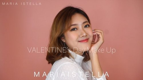 """<div class=""""photoCaption"""">Yashhh !!! My Valentines Day look is finally up on my youtube channel ! Walaupun masih sedikit awkward, maklumkan yah 😭 Link on bio gengs!!! ❤️❤️  <a class=""""pink-url"""" target=""""_blank"""" href=""""http://m.clozette.co.id/search/query?term=mariaistellabeautyvid&siteseach=Submit"""">#mariaistellabeautyvid</a><br /> .<br /> .<br /> .<br /> Product used :<br /> - @lapalette_beauty Double mesh blur pact from @charis_official<br /> - @thefaceshopid concealer dual veil<br /> - @bcl_company_official Clear Last pore cover from @kaycollection<br /> - @nyxcosmetics_indonesia makeup sculpt & highlight brow contour<br /> - @canmakeid nose shadow powder<br /> - Beauty Creation """"tease me"""" eyeshadow palette<br /> - @thefaceshopid kakao friends mono pop eyes no.2<br /> - @indonesia_etudehouse super slim proof brush liner """"brown""""<br /> - Kiss Me Heroine Mascara long and curl<br /> - @maybelline master flush creator """"tickled pink""""<br /> - @clioindonesia Mad matte lip no.07<br /> - @thesaemid Eco Soul Shaker tint no.5 """"wild plum""""<br /> .<br /> .<br /> Brushes by @sigmabeauty<br /> Contact lenses : Mini Ava Blue & Mini Nobluk Brown from @zendiixsoftlens<br /> .<br /> .<br /> .<br /> .<br /> .<br /> .<br /> .<br /> .<br /> .<br /> .<br /> @indobeautygram @bvlogger.id @indovidgram   <a class=""""pink-url"""" target=""""_blank"""" href=""""http://m.clozette.co.id/search/query?term=IVGbeauty&siteseach=Submit"""">#IVGbeauty</a>  <a class=""""pink-url"""" target=""""_blank"""" href=""""http://m.clozette.co.id/search/query?term=indobeautygram&siteseach=Submit"""">#indobeautygram</a>  <a class=""""pink-url"""" target=""""_blank"""" href=""""http://m.clozette.co.id/search/query?term=indovidgram&siteseach=Submit"""">#indovidgram</a>  <a class=""""pink-url"""" target=""""_blank"""" href=""""http://m.clozette.co.id/search/query?term=beautymood&siteseach=Submit"""">#beautymood</a>  <a class=""""pink-url"""" target=""""_blank"""" href=""""http://m.clozette.co.id/search/query?term=asianvlogger&siteseach=Submit"""">#asianvlogger</a>  <a class=""""pink-url"""" target=""""_blank"""" href="""""""