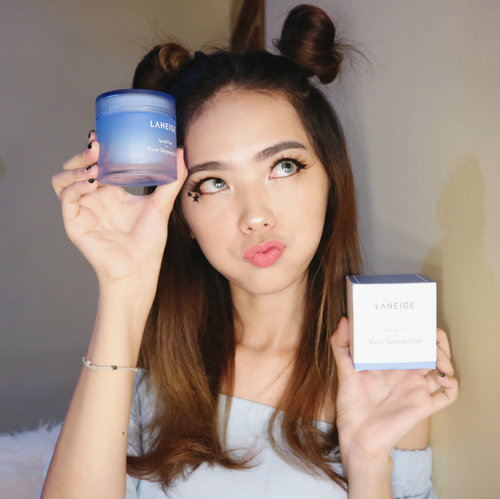 """<div class=""""photoCaption"""">Hi dear, have you try this @laneige_kr Water Sleeping Mask?<br /> -<br /> Anyway, you can get 40% off when you shop by click the link on my bio. Happy Shopping ! 💖<br /> -<br /> -<br /> -<br /> @mavenfulindonesia <br />  <a class=""""pink-url"""" target=""""_blank"""" href=""""http://m.clozette.co.id/search/query?term=laneige&siteseach=Submit"""">#laneige</a>  <a class=""""pink-url"""" target=""""_blank"""" href=""""http://m.clozette.co.id/search/query?term=laneigewatersleepingmask&siteseach=Submit"""">#laneigewatersleepingmask</a>  <a class=""""pink-url"""" target=""""_blank"""" href=""""http://m.clozette.co.id/search/query?term=sleepingmask&siteseach=Submit"""">#sleepingmask</a>  <a class=""""pink-url"""" target=""""_blank"""" href=""""http://m.clozette.co.id/search/query?term=mavenful&siteseach=Submit"""">#mavenful</a> <br />  <a class=""""pink-url"""" target=""""_blank"""" href=""""http://m.clozette.co.id/search/query?term=beautynesiamember&siteseach=Submit"""">#beautynesiamember</a>  <a class=""""pink-url"""" target=""""_blank"""" href=""""http://m.clozette.co.id/search/query?term=clozetteid&siteseach=Submit"""">#clozetteid</a>  <a class=""""pink-url"""" target=""""_blank"""" href=""""http://m.clozette.co.id/search/query?term=indobeautyblogger&siteseach=Submit"""">#indobeautyblogger</a>  <a class=""""pink-url"""" target=""""_blank"""" href=""""http://m.clozette.co.id/search/query?term=medanbeautygram&siteseach=Submit"""">#medanbeautygram</a>  <a class=""""pink-url"""" target=""""_blank"""" href=""""http://m.clozette.co.id/search/query?term=beautyblogger&siteseach=Submit"""">#beautyblogger</a>  <a class=""""pink-url"""" target=""""_blank"""" href=""""http://m.clozette.co.id/search/query?term=skincare&siteseach=Submit"""">#skincare</a>  <a class=""""pink-url"""" target=""""_blank"""" href=""""http://m.clozette.co.id/search/query?term=skincarekorea&siteseach=Submit"""">#skincarekorea</a>  <a class=""""pink-url"""" target=""""_blank"""" href=""""http://m.clozette.co.id/search/query?term=koreanskincare&siteseach=Submit"""">#koreanskincare</a></div>"""