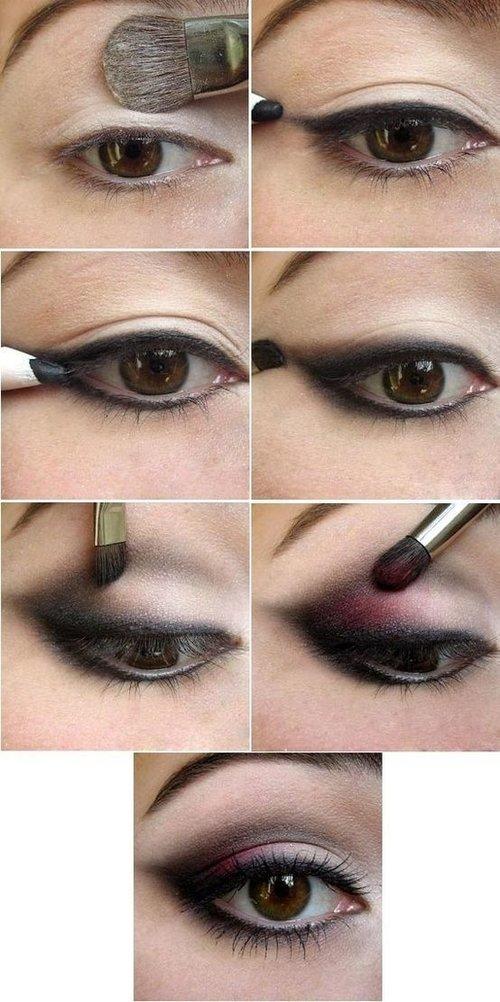 Как делать макияж самой пошагово