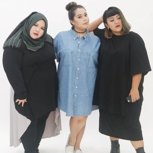 """<div class=""""photoCaption"""">We are just three plus sized woman who wants to reach their dreams, just like you. Lots of people told us we couldn't get it because of our body, but hey, who are you to judge? We did it!!! Meet my friend @riezkiaisah even though she is big size but she teach yoga and look how flexible her body is. And meet my friend @tiraemon, she is so bright, bubbly and a bit clumsy in a cute way in real life, but she know how to pose in front of camera, confidently!!! As for me, I still have lots of dream to achieve and I won't stop. Did I told you that my dream's project is coming soon? hehehehe.<br /> <br /> By thew way I am so proud of my two friends 😘😘😘😘. Being a plus size doesn't stop you doing what you like, listening to what judgemental people said about you is stopping you. Just be yourself!!!!!🤗😚😗😙 •<br /> •<br /> •<br /> •<br /> •<br />  <a class=""""pink-url"""" target=""""_blank"""" href=""""http://m.id.clozette.co/search/query?term=effyourbodystandards&siteseach=Submit"""">#effyourbodystandards</a> <a class=""""pink-url"""" target=""""_blank"""" href=""""http://m.id.clozette.co/search/query?term=casual&siteseach=Submit"""">#casual</a> <a class=""""pink-url"""" target=""""_blank"""" href=""""http://m.id.clozette.co/search/query?term=ootd&siteseach=Submit"""">#ootd</a>  <a class=""""pink-url"""" target=""""_blank"""" href=""""http://m.id.clozette.co/search/query?term=bigandblunt&siteseach=Submit"""">#bigandblunt</a> <a class=""""pink-url"""" target=""""_blank"""" href=""""http://m.id.clozette.co/search/query?term=bigsizeootd&siteseach=Submit"""">#bigsizeootd</a>  <a class=""""pink-url"""" target=""""_blank"""" href=""""http://m.id.clozette.co/search/query?term=celebratemysize&siteseach=Submit"""">#celebratemysize</a> <a class=""""pink-url"""" target=""""_blank"""" href=""""http://m.id.clozette.co/search/query?term=curvyasian&siteseach=Submit"""">#curvyasian</a>  <a class=""""pink-url"""" target=""""_blank"""" href=""""http://m.id.clozette.co/search/query?term=plussizeasian&siteseach=Submit"""">#plussizeasian</a> <a class=""""pink-url"""" target=""""_blank"""" href=""""http://m.id.clozette.co/search"""