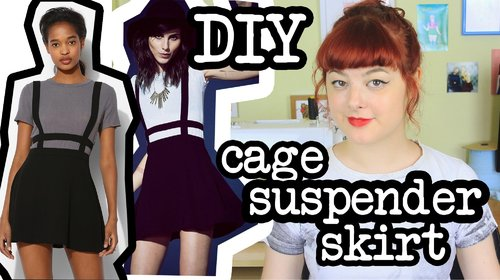 "<div class=""photoCaption"">DIY Cage Suspender Skirt 