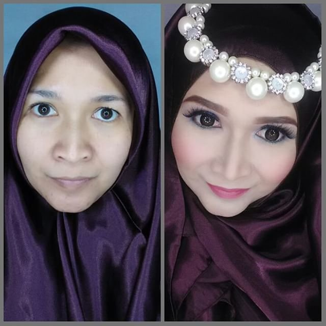 The miracle of makeup. #clozetteid #godiscover #silkygirl ...