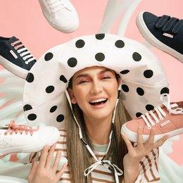 Kolaborasi Superga X Luna Maya Hadirkan Koleksi Sneakers Menggemaskan