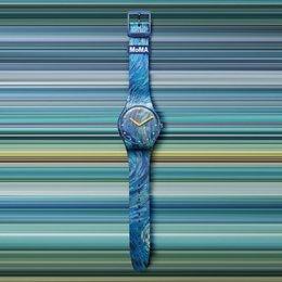 Mengintip Uniknya Kolaborasi Swatch X MoMA