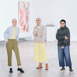 Menangkan Giveaway UNIQLO Modest Wear Spring/Summer 2021 Untuk Mengekspresikan Diri