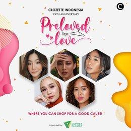 Serunya Berbelanja Sambil Berbagi Bersama Clozette Indonesia Dalam Preloved For Love
