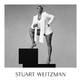 Ketangguhan Serena Williams Mengantarnya Menjadi Wajah Baru Stuart Weitzman