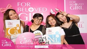 At @forbelovedgirl Pink Party for their 1st year celebration!! 😍😍 Did I mentioned to you that I love their sheet mask?? ❤❤ Thank you @theprpeople for the invite! 😘 #clozette #forbelovedgirl