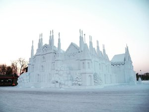 Guess what is this ⛪  #jessyingtravel #jessyingchina #harbin  #china #travelgr8 #travel #travelgram #wanderlust #snowfestival efestival #clozette #instatravel #snowsculpture #ice #snow #winter #iceworld #ig #igtravel #art