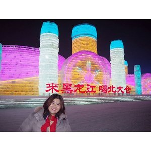 Finally I made it to the 1st day opening of 18th Harbin-China Ice-Snow World. The colorful lighting will be switch on at 4pm and best to come after that. The ice sculpture area pretty huge and very cold. Entrance ticket CNY330 and if you buy through travel agency its CNY310 including return  transportation.  #jessyingtravel #jessyingchina #harbin  #china #travelgr8 #travel #travelgram #wanderlust #icefestival #clozette #instatravel #icesculpture #ice #snow #winter #iceworld #ig #igtravel