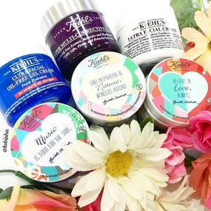 """🎉Another exciting collaboration this New Year! ✨Kiehl's """"NEW YEAR, NEW SKIN, NEW YOU"""" campaign, collaborating with local arts and music talent, Ginette Chittick. 👍🏻SGD2.00 from the sales of limited edition Kiehl's X Ginette Chittick designed creams will be donated to support Children's Cancer Foundation. Each cream comes with a special design, do your part by purchase these lovelies to support the campaign. #kiehlssg #kiehls #newyearnewskinnewyou #ginettechittick #beauty #skincare #charity #beauty #clozette"""