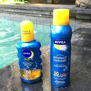 Greetings from Bali! Brought along NIVEA Cooling Sun Spray & Cooling Mist to protect me against the hot sun in Bali! 💦 Super convenient, just spray and you are ready to be out in the sun! ☀️ #Nivea #niveasg #niveacoolingmist #niveasunspray #bali #tebishatravel #sunscreen #beauty #clozette