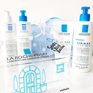 La Roche-Posay first body care range! LIPIKAR 💙 This range of body products for dry skin among adults and children. 💙LIPIKAR BAUME AP+ and LIPIKAR SYNDET AP+ is suitable for children and adults with sensitive and eczema-prone skin. 💙LIPIKAR Body Milk and LIPIKAR Gel Lavant are suitable for sensitive, dry and uncomfortable skin. 💙I have bought extra bottles of LIPIKAR BAUME AP+ and LIPIKAR SYNDET AP+ for my hubby to try out during the pre-launch. He has eczema issue for many years, every night he has trouble in sleep due to the skin itch. ❄️I will share more info of the LIPIKAR range and how LIPIKAR helps my hubby to fight against eczema skin trouble on my blog post soon. So stay tune, more details will be out soon. 💙Now let's do our part in sharing a blue balloon. #ShareABlueBalloon & for every 100 shares, #LRPSg will sponsor a child with Eczema. Head to http://www.laroche-posay.sg/article/Lipikar-Families-v2-Home/a30701.aspx to support the campaign! #lipikar #larocheposay #larocheposaysg #lrp #lrpsg #skincare #bodycare #beauty #clozette