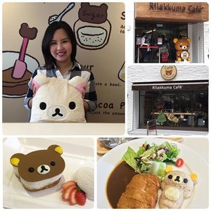 Highlights of my trip is Rilakkuma Cafe in Taipei! It was madness to make reservations online last month, I have to camp on my laptop at 12pm sharp to book a slot! The cafe doesn't take walk in or call reservation, only online! I'm glad that I managed to book a slot. As usual, the food are average, we paid for the cuteness atmosphere. Will only go once to experience that's all! 😂 #rilakkumacafe #rilakkuma #cafe #taipeicafe #taipei #tebishatravel #travel #food #foodporn #instafood #clozette