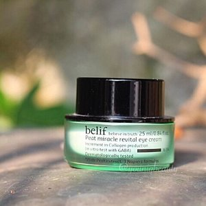 @belif.official peat miracle revital #eyecream #review  product claims - humic acid of peat extract plumps up the eye area and its GABA ingredient accelerates the production of collagens w/c minimizes wrinkles and fine lines around the eyes and smoothes skin. no mineral oil, synthetic fragrances, colors, preservatives, animal derived ingredients.  color/texture/smell - very faint flowery smell that is very thick in consistency. color is opaque white cream.  verdict - this product contains 20 different kinds of root, fruit, and leaf extracts all pack in one cream. the ingredient list is amazing😱 no wonder this is the best selling item from belif. a bit pricey for an eye cream but when you check the quantity you are getting you will realize that the price is now a bit affordable plus you just need a minute amount to cover both your eyes, been using this for 10months already and yet i still have enough maybe to last me for two more months. oh and the results...amazing😱this is the only eye cream that has really brightened my under eye area w/o all that harmful ingredients and makes my eye area really soft and supple. the only thing i complain about this since im very clog prone is that i break out from shea butter, so this is my very last step in my routine. i cant use this before my moisturizer and if i did pimples the next day. so people with clog prone skin or those who break out from shea butter like me would complain about this but normal to dry and sensitive skin types would definitely love this. aside from that definitely lived up to its claims and i did enjoy using this. the product just sinks in immediately, i did not feel that it just piled on top and blends in beautifully even if i use it as a last step.  rating - 4/5 (if only theres no shea butter)  #youniqbeauty #rasianbeauty #skincarejunkie #skincareaddict #skincareroutine #beautybloggerph #kbeauty #belif @belifusa #clozette #beauty #darkcircles #bblogger #influencer #abblogger #abcommunity #instablogger #igblogger