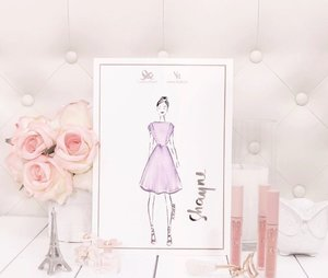 Beautiful artwork by fashion illustrator @peterich_ of me & my hair bun wearing this cute dress from @plainsandprints x @vaniaromoff latest collection. More photos of the collection and the launch event up on the blog ♥️ #plainsandprintsxvaniaromoff #plainsandprintsph