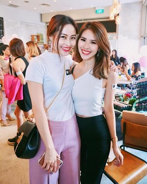 C L O Z E T T E Attended the @clozetteco party event today with @07xjangirl today! Thank you for having me ❤️ #clozette #igsg #potd