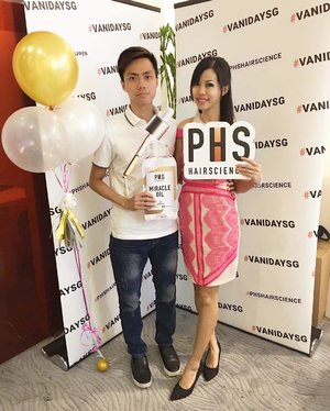 Get ready for fabulous looking hair with @phshairscience!  #event #phshairscience #haircare #vanidaysg