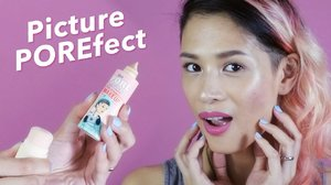 Picture POREfect Skin ft. Benefit NEW Porefessional Pore Minimizing Makeup - YouTube