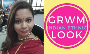 New Video Alert, it's a GRWM  Link is in the bio⬆  #singaporeyoutuber #singaporeindianblogger #beautycreator #contentcreator #youtuber #beautyblogger #indianyoutuber #beautyvlogger #singaporebeautyblog  #singaporebeautyblogger #clozette #theleiavblog #theleiav #newvideo #newvideoalert #grwm #grwmvideo