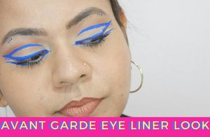 New Video Alert, a recreation of the eye liner look on the back of NYX Vivid Brights Eyeliner packaging:)👀 @nyxcosmetics_sg  Link is in the bio⬆  #singaporeyoutuber #singaporeindianblogger #beautycreator #contentcreator #youtuber #beautyblogger #indianyoutuber #beautyvlogger #singaporebeautyblog  #singaporebeautyblogger #clozette #theleiavblog #theleiav #newvideo #newvideoalert #graphiceyeliner #avantgardeeyeliner