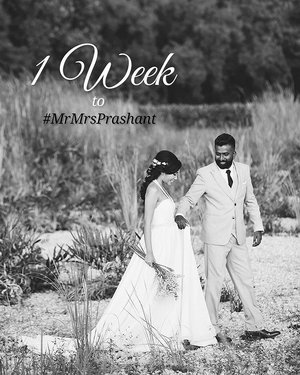 ❤Its been an insane week full of last minute errands. Tons of mixed emotions going through my system. Excited that the day is almost here. Scared of the responsibilities of being someone's wife. Happy because I will finally be married to you @shinemanson and change my status forever.  Countdown🕭: 1 Week  #MrMrsPrashant #weddingcountdown #weddingplans #weddingbells🔔#weddingbelle #heputaringonit💍 #2017bride #sgbride #wedmin #clozette #starclozetter #clozettebloggerbabes #fashionblogger #fblogger #lifestyleblogger #lblogger #sgblogger #sgfashionblogger #indianblogger #indianfashionblogger #influencersg #sglife #sglifestyle #igsg