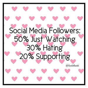 💋Biggest hugs to the 20% of you for your constant love and support. Thank you too to the 50% and 30% of you for taking your precious time to stop by and contribute to the viewership, xoxo.  #socialmedia #followers #qotd #quote #sassyquote #clozette #starclozetter #clozettebloggerbabes #fashionblogger #fblogger #beautyblogger #bbloger #lifestyleblogger #lblogger #sgblogger #sgfashionblogger #influencersg #sglife #sglifestyle #igsg