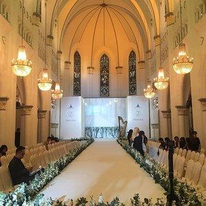 CHIJMES HALL #zwedding #zweddingxchijmes2016 #throwback #chapel #clozette
