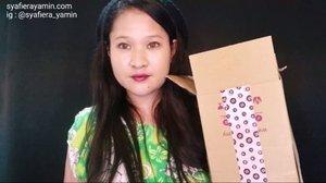 Yea.Unboxing  beauty box dari @hermomy !full video : https://youtu.be/I-R6w22NwMA#hermomy#beautybox#syafierayamincom #blogger #mommyblogger #youtuber #ClozetteBloggerBabes#clozette