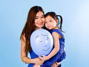 #throwback To a shoot together with My Daughter  @Playeum for  @Lrpsg #shareablueballoon party , a campaign to raise awareness for Eczema and to support families with children who suffers from Eczema-prone skin.  With a Daughter that suffer from Eczema ( Esp under her lips and I could  relate to how much care & support is needed .  With Every social media post that shares the campaign = 3 Eczema-prone children helped.  Starting from April 12, share a virtual blue balloon on our website. Every 100 blue balloons shared = 1 Eczema-prone child helped KK's Women's and Children's Hospital's Paediatric Dermatology Clinic  #clozette