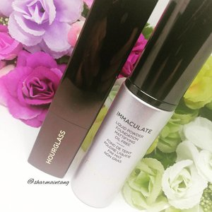 2 of my favourite foundations from #hourglass  1⃣The Vanish stick foundation is super convenient and pigmented. It also blends out easily and feels very comfortable on the face. Although it doesn't help control sebum, it didn't fade or break up on me when my oils come through. After blotting, the foundation continued to look fresh & good!  2⃣The Immaculate foundation is targeted at oily skin because it is very mattifying. Its a liquid to powder foundation so sometimes I don't even set my foundation with powder! It can look cakey at times but blotting & face mist can easily solve that problem!  I hope you are having a good Thursday! I'm still struggling to swallow with my inflamed throat so let's hope I get well soon!  #clozette #igmakeup #instamakeup #sgmakeup #sgblogger #beautyblogger #bblogger #makeuplover #makeupaddict #makeupcrazy #makeupjunkie #makeupchat #makeupporn #makeuptalk #trendmood #meccabeautyjunkie #igers  #flatlay #makeuphoarder #makeup #glam #instalike #foundation