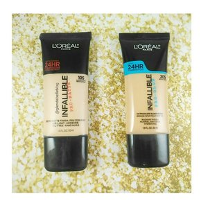 @lorealmakeup #lorealph #infallible #infalliblepromatte #infallibleproglow  At first I was undecided, I ended up trying them both! #clozette