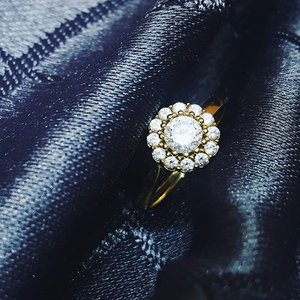 My most precious jewelry . . . . . . . . . . . #clozette #instalike #instagood #instajewelry #diamondring #engaged #engagementring #instamood #l4l #like4like #stylehaul #stylehaulpartner #stylehaulph #pinayyoutuber #bblogger #bvlogger