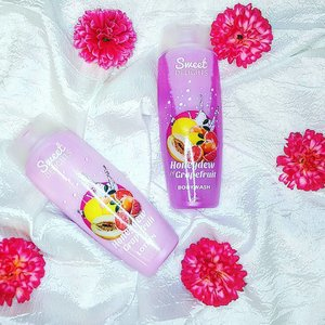 Sweet Delights Honeydew and Grapefruit Lotion & Bodywash from #watsonsph  Got this for 79.75 php only!  These smell so fresh and good for the season. Great scent for the price. . . . . . . . . . . . . . #clozette #fresh #lotion #honeydew #grapefruit #stylehaul #stylehaulph #flatlay #instalike #like4like #l4l #supereonxiv #bodyscrub #bodylotion #tropical #tropicalscent #summer #instamood #pinayyoutuber #asianbeautyblogger #bbloggerph #bvloggerph