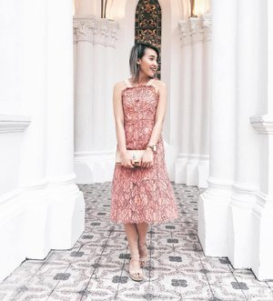 because you love her;  All dressed up in @juilletofficial for tonight's wedding showcase by @zwedding at @chijmes_sg! Currently feeling like there's so much more to learn about love till I finally don my own white gown. Till that day✨  #ZWedding #juilletofficial #ootd #lotd #lookbooksg #stylexstyle #clozette #zweddingcouture2017