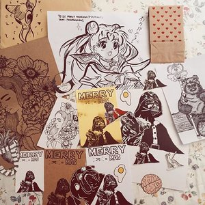 Aw shucks! This is just the bestest surprise ever! Came home & there was this envelope 💌 with a sketch of Bambi just sitting on my dining room table !! Inside it, are all these wonderful art work by @margaxmars They're all lovely! I couldn't be more happier!! 💓💗💖✨💕🌈🌟 thank you for all your effort ☺️ I appreciate it so much! 😘 These are all so precious .. I'm a sentimental schmuck I love collecting hand written notes & art by loved ones & local talents!  #セーラー戦士  #魔法少女  #sailormoon #sailormooncollection #sailormooncollectibles #sailormoon20thanniversary #sailormooncrystal #clozette #starwarssg #theforceawakens #starwars #theforceawakenssg #starwarsday #starwarsfan #starwarsnerd #starwarscelebration #starwarsdaily  #starwarsweekend #starwarsgeek