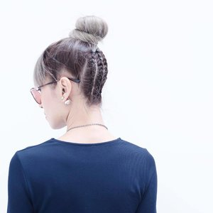 A good a hair day. ... If you're wondering how I did the hair? Stop wondering cos I didn't. The creator of this  hairstyle is @will_i_amwong from @toniandguybangsar. . . #hairstyles #braids #toniandguybangsar #toniandguymalaysia #sexyback #coolhair #fromtheback #ootd #photoshoot #clozette #instadaily #instabeauty #divainmebeauty #blogger #fashionshoot #fashionblogger