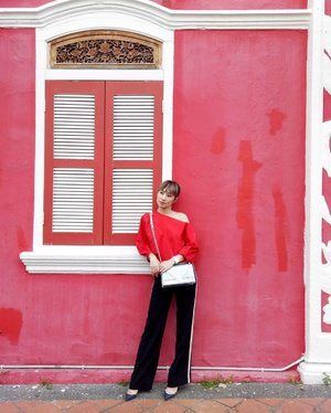 Seeing red and blending into the wall....📸: @kittieyiyi.. http://liketk.it/2rcvK #liketkit @liketoknow.it #LTKStyleTip #LTKBeauty #LTKEurope @liketoknow.it.europe #tibi #shopbop #travel #restandrelax #weekend #sunday #blogger #fashion #fashionblogger #johorbahru #thereplacementlodgeandkitchen #jalanjalancarimakan #instadaily #instafashion #clozette #fashionista #ootd #whatiwore #outfit