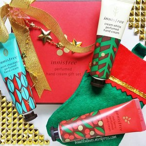 Feeling super loved with this early Christmas delivery from @innisfreesingapore - much-needed handcare to pamper the hands that spend so many hours banging the keyboard churning out articles and blog posts 😍 Did I mention that they smell so good too? This special Christmas handcream trio is a v affordable $17, so you can start shopping now! 🎄💝 #innisfree #innisfreesg #christmas #shopping #beauty #beautyaddict #beautyjunkie #beautyblogger #beautyblog #bblog #bblogger #clozette #cosmetics #beautystash #beautyhaul #skincare #skincarejunkie #skincareaddict #kbeauty #korean #handcream #이니스프리 #크리스마스 #vegas_nay #instafollow