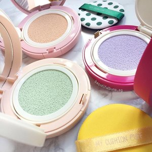 Pastels are such pretty colours, especially when they're in cushion format 😍 Have you tried out the new No Sebum Correcting Cushions  from @innisfreesingapore yet?  #innisfree #innisfreesg #이니스프리 #bbcushion #pastel #beauty #beautyblog #beautyblogger #clozette  #beautyaddict #bblogger #instabeauty  #makeup #makeupjunkie #makeupaddict #makeupstash  #beautyjunkie #trendmood #skincare #skincareblogger #makeuphoarder #igbeauty #sgigbeauty  #koreanskincare #koreanbeauty #koreancosmetics #kbeauty